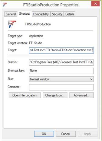 FTI Studio Production Properties