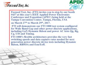Focused Test APEC 2017